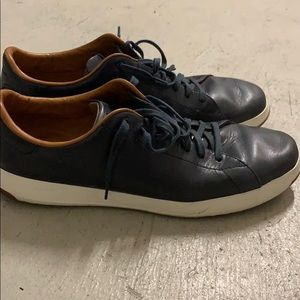 Cole haan grand pro navy with white soles